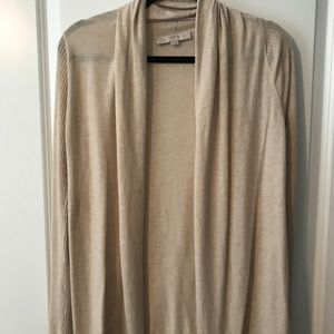 LOFT open cardigan (XS)